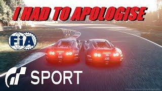 GT Sport I Had To Apologise - FIA Nations Round 3 Season 2 Top Split