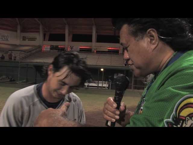 06/16/13 Courtney Arruda Interview - Na Koa Ikaika Maui vs. Hawaii Stars Hilo