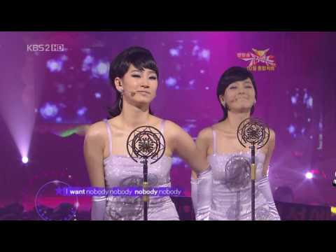 (MV)韓國 Wonder Girls-Nobody(粉紫色旗袍)
