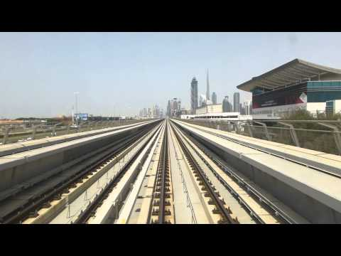 Dubai Metro Cabride to Business Bay station
