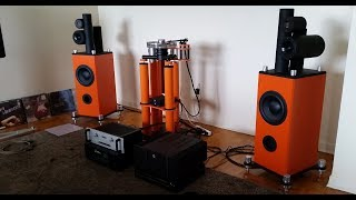 Stereo - AWESOME one of a kind DIY speakers