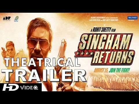 Singham Returns Official Theatrical Trailer | Ajay Devgn & Kareena...