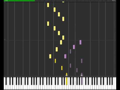 Cyriak - No more memory [Synthesia Piano Tutorial]