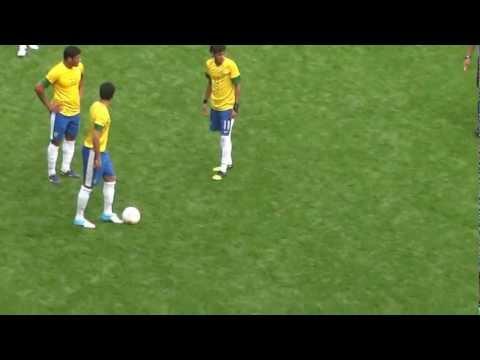 Neymar honors idol Usain Bolt in 3-1 win for Brazil over Belarus in men's Olympic football