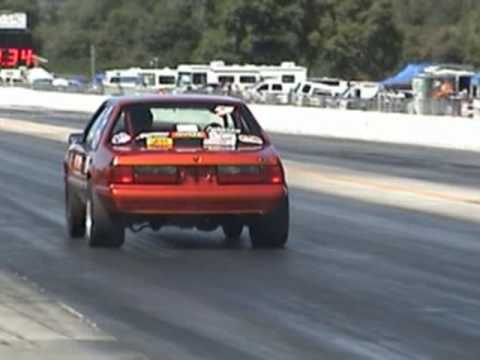 NMRA Factory Stock Louis Sylvester Jr. Quickest Pass GT-40 2009