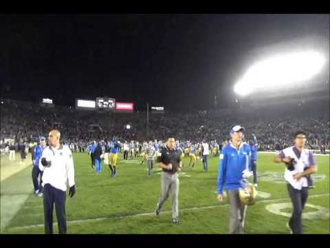 BSR TV: UCLA celebrates three in a row over USC