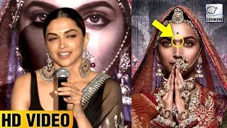 Deepika Padukone Revealed Secret Behind Her Unibrows In Padmaavat Poster | LehrenTV