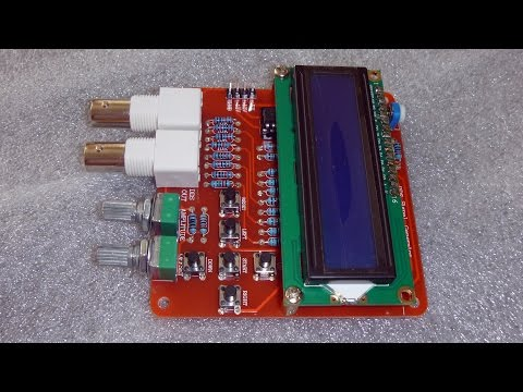 DDS Function Signal Generator DIY Kit: Unpacking and Assembly
