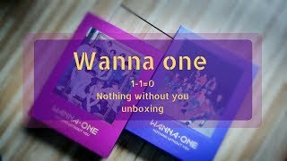 Wanna One (워너원) -  1-1=0 Nothing Without You Unboxing (열다)