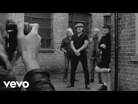 AC/DC - Photo Shoot - Behind The Scenes