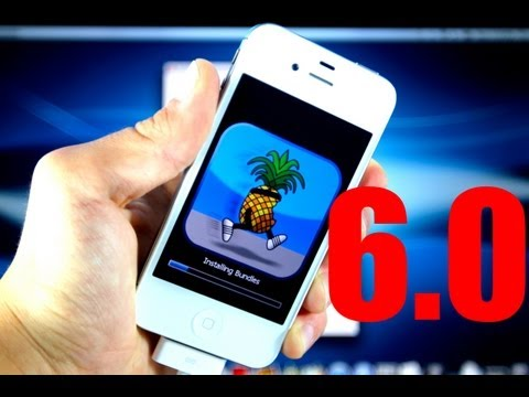 How To Jailbreak iOS 6 Semi Untethered iPhone 4/3Gs & iPod 4G & Install Cydia - 6.0.1/6.0