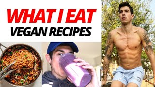 What I Eat When It's NOT CHEAT DAY - Healthy Plant-Based Recipes - Full Day Of Vegan Eating