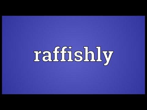 Header of raffishly