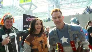 Clark, Chloe, and Gabriel Undercover at Comic-Con - Marvel