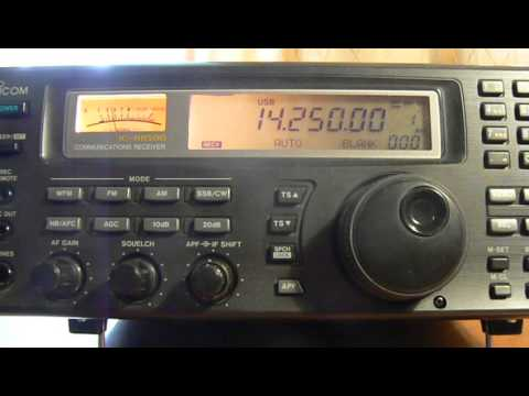 14250khz,Ham Radio,HZ1BL(Saudi Aramco,Saudi Arabia) 04-46UTC.
