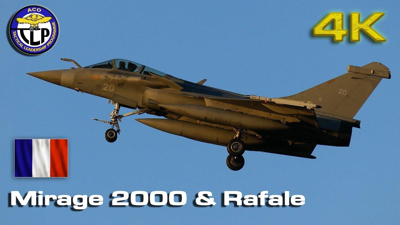French Army Mirage 2000 & Rafale training