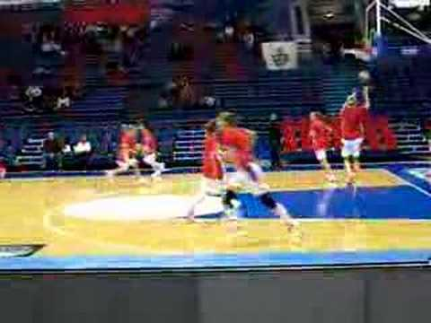 Maria Stepanova (CSKA Moscow) slam dunk (original good quality) Video