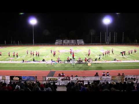 Lakeland Regional High School Band Wayne Hills Performance 10/18/14