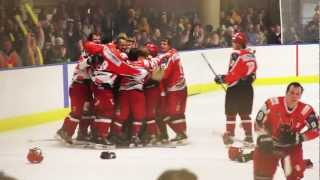 Source TeeVee - the NZIHL Ice Hockey Grand FINAL - Southern Stampede Vs Canterbury Red Devils