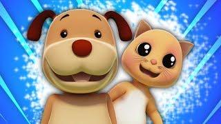 Doggie Doggie sim papa | rima em português | rimas de berçário | musica infantil | Farmees Português