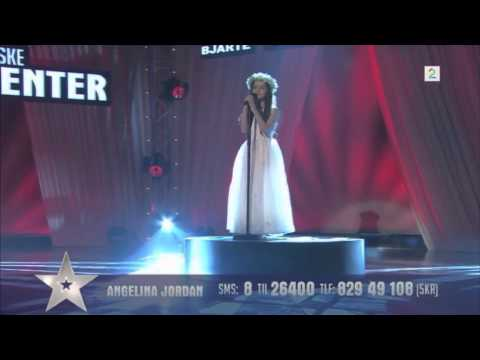 "Amazing 8 Year Old  Sings ""Shot Me Down""On Norway's Got Talent"