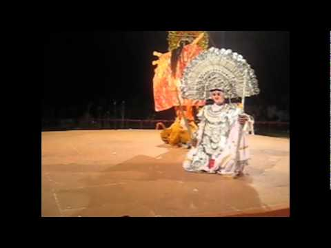 Navratri Maa Durga Mahishasur Mardini Purulia Chhau Dance West Bengal Folk India video