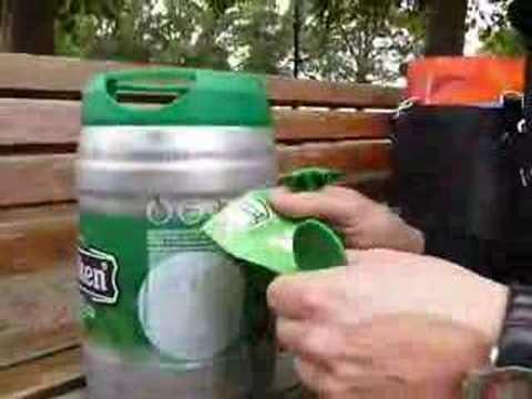 Heineken Keg Foam Endorses The Heineken Keg