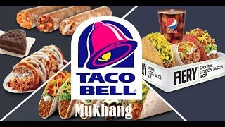 Mukbang: Taco Bell & Hot Sauce Review