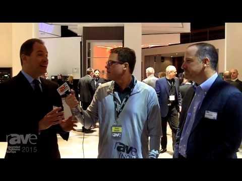 ISE 2015: Gary Kayye Speaks with Joe Andrulis and Van Williamson of AMX and Harman