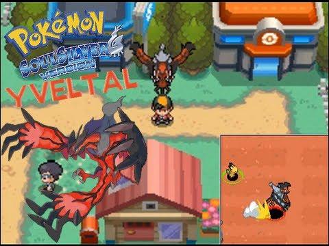 Yveltal in Pokemon Soul Silver