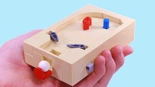 How to build a mini Lego pinball machine that works!