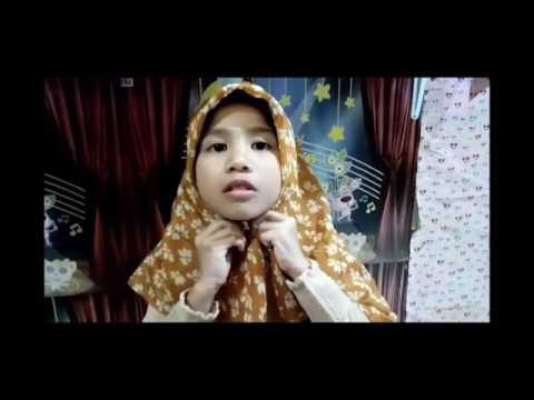 Tutorial Hijab Anak - Anak Simpel Dan Cantik,,,