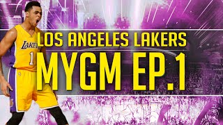 NBA 2K17 MyGM Ep. 1 - Los Angeles Lakers | Hilarious Video | Huge Trades?