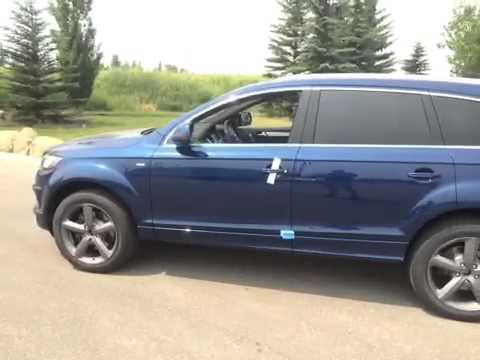 Audi q7 Scuba Blue 2015 Audi q7 Scuba Blue Met