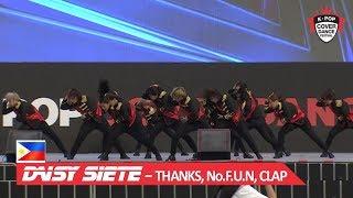 [PHILIPPINES] DAISY SIETE - THANKS, No.F.U.N, CLAP / 2018 K-POP COVER DANCE FESTIVAL
