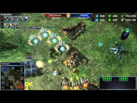 WhiteRa vs [WiLD]Breach [PvT] #SC2