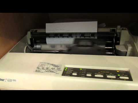 Dot Matrix Printer (Star LC24-200)