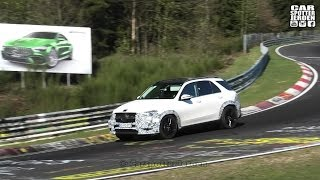 2020 Mercedes GLE53 TESTING AT THE NURBURGRING | Engine sound & Driving