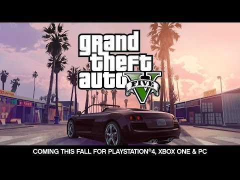 Grand Theft Auto V -- Coming For Playstation®4, Xbox One And Pc This Fall video