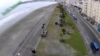 The storm surge Jan 3, 2014 Douglas, Isle Of Man