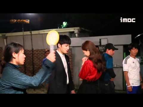 [VIDEO] Jaejoong and Jinhee Kiss Scene BTS in Triangle Ep 20
