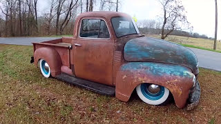 "Chevy Ratrod Patina Bagged Truck ""Big Country"""