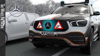 10 Future Safety Systems by Mercedes-Benz – ESF 2019