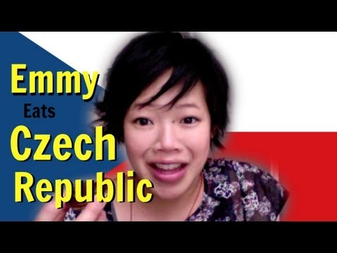 Emmy Eats the Czech Republic - Czech Snacks & Sweets