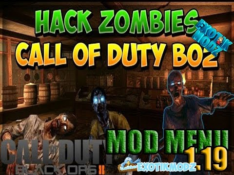 Hack Black Ops 2 Nuevo Mod Menu Zombies 1.19 sin pillazos,Usalo con play original Infectado