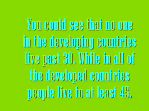 Difference Between Developing and Developed Countries Projectt.