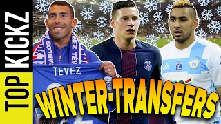 Die 10 Top-Transfers im Winter 2016/17 | TopKickz
