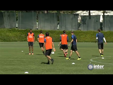 ALLENAMENTO INTER REAL AUDIO 23 04 2014
