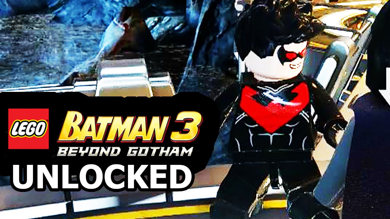 Lego Batman 3 Beyond Gotham Nightwing Lego Batman 3 Beyond Gotham