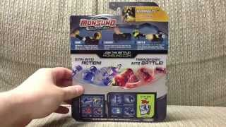 Wave 1 Monsuno Toy Opening - #13 Blackbullet S.T.O.R.M.